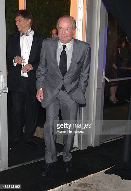 James Caan attends 2015 YoungArts Backyard Ball at YoungArts Campus on January 10 2015 in Miami Florida