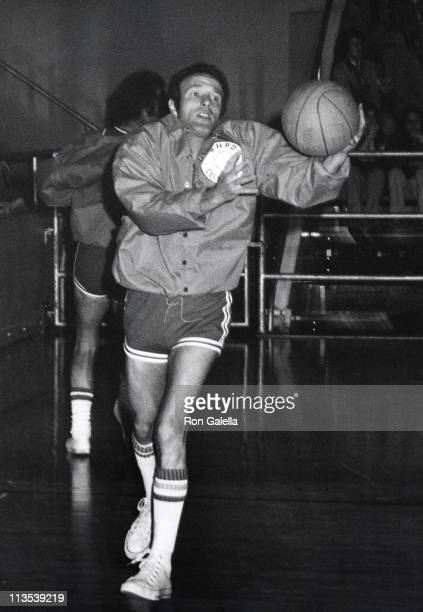 James Caan during Gala Basketball Game at Beverly Hills High School in Beverly Hills California United States