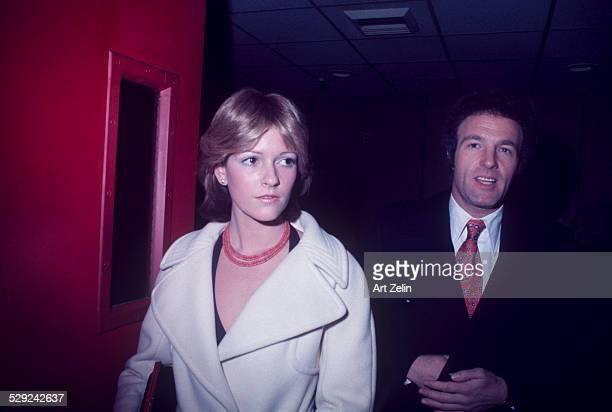 James Caan with his wife Sheila circa 1970 New York