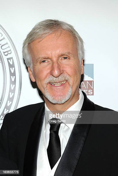 James Cameron attends the 109th Explorers Club Annual Dinner at The Waldorf Astoria on March 16 2013 in New York City