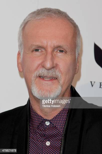 James Cameron attends the 5th anniversary of Suzy's global sustainable design campaign party at Palihouse Holloway on February 27 2014 in West...