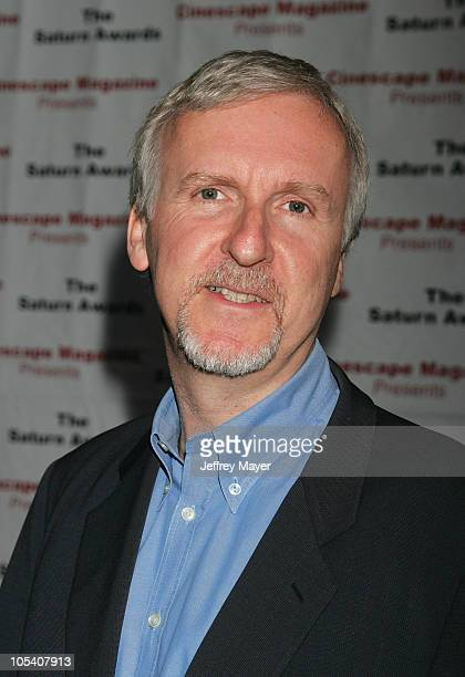 James Cameron during The 30th Annual Saturn Awards Arrivals at Sheraton Universal Hotel in Universal City California United States