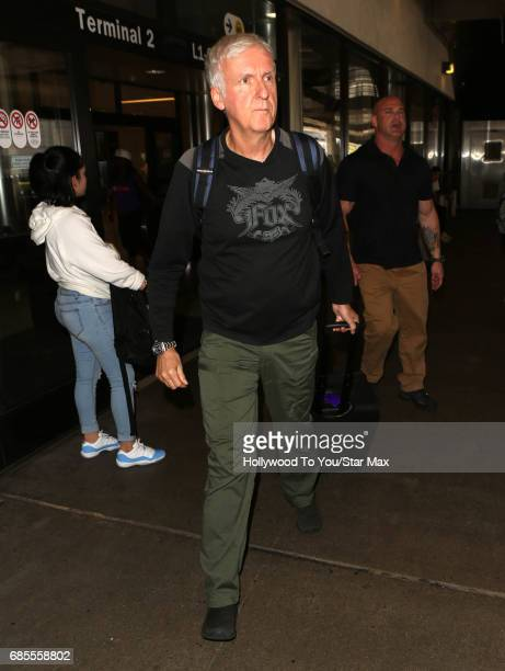 James Cameron is seen on May 19 2017 in Los Angeles CA