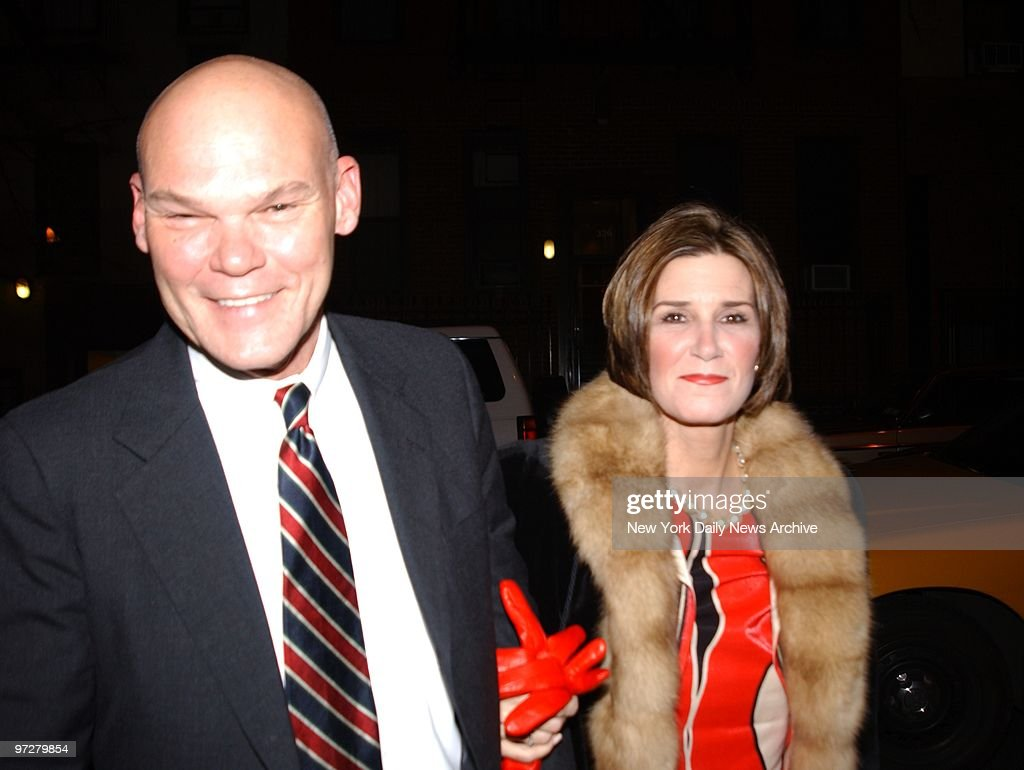 Alexandra Wentworth James Carville And Wife Mary Matalin At The Archdiocesan Cat