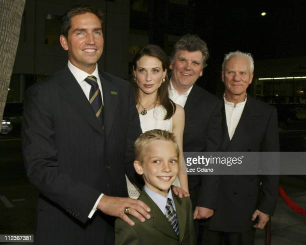 James Caviezel Devon Gearhart Claire Forlani director Rowdy Herrington and Malcolm McDowell