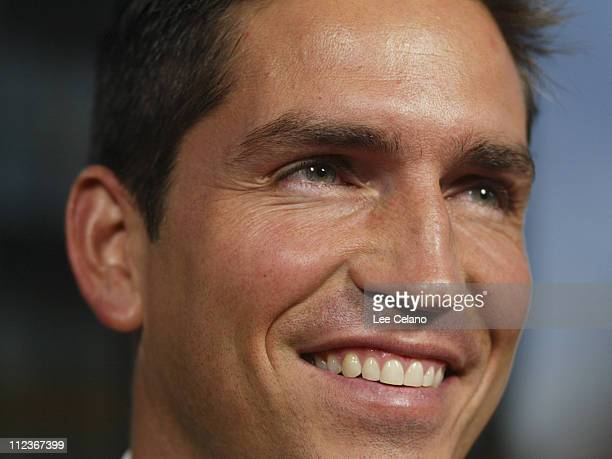James Caviezel during 'Bobby Jones Stroke of Genius' Los Angeles Premiere Red Carpet at Samuel Goldwyn Theater in Beverly Hills California United...