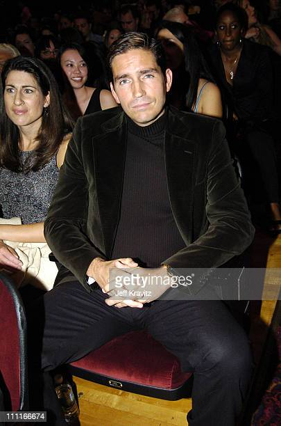 James Caviezel during VH1 Big in '04 Backstage and Audience at Shrine Auditorium in Los Angeles California United States