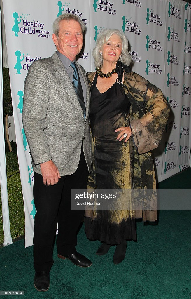 James Chuda (L) and Nancy Chuda attends the Mom On A Mission's 5th Annual Awards & Gala on November 6, 2013 in Pacific Palisades, California.
