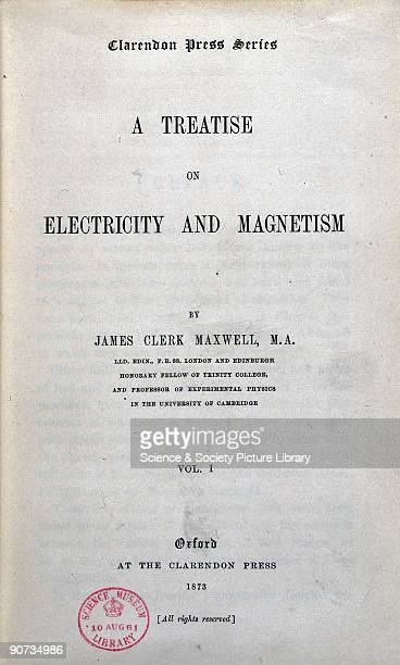 James Clerk Maxwell was one of the greatest theoretical physicists the world has ever known He was born in Edinburgh Scotland and studied mathematics...