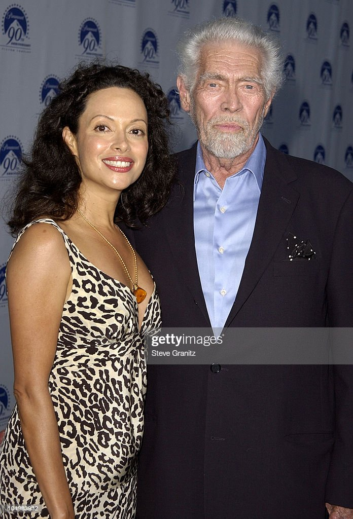 <a gi-track='captionPersonalityLinkClicked' href=/galleries/search?phrase=James+Coburn&family=editorial&specificpeople=221456 ng-click='$event.stopPropagation()'>James Coburn</a> and wife Paula Murad during Paramount Pictures Celebrates 90th Anniversary With 90 Stars for 90 Years at Paramount Pictures in Los Angeles, California, United States.