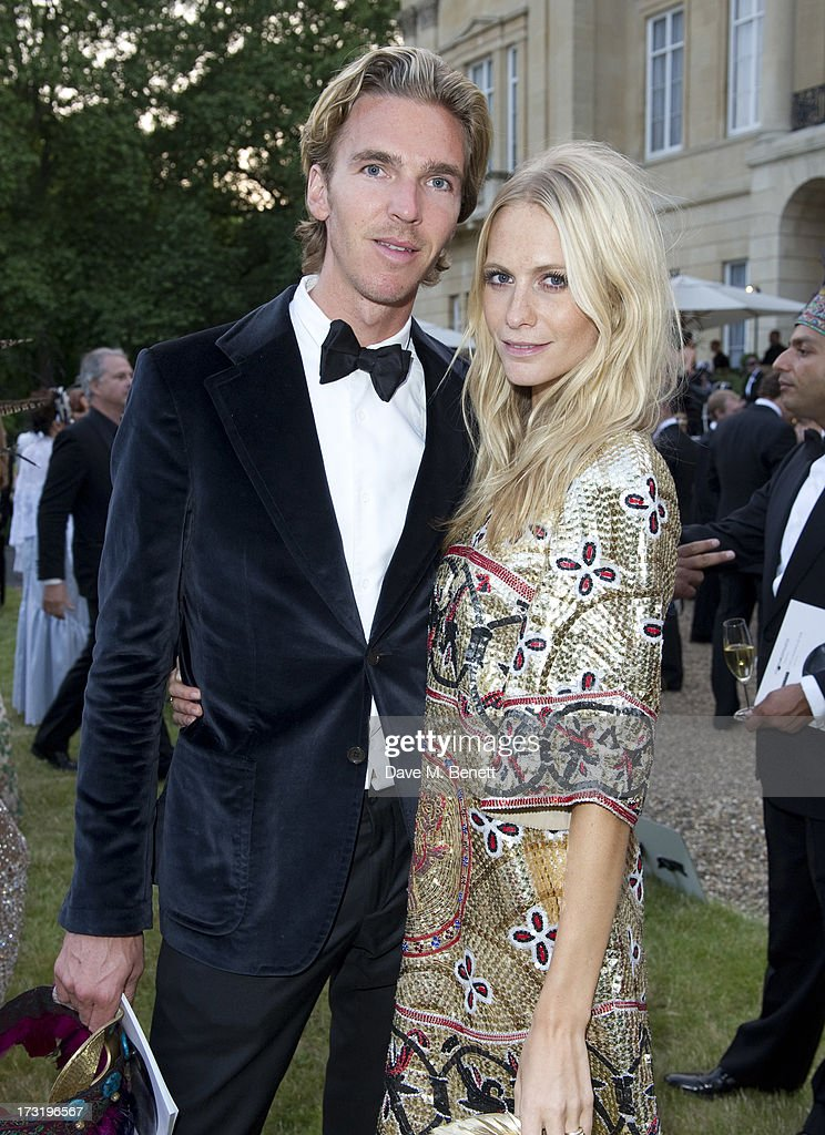 James Cook and <a gi-track='captionPersonalityLinkClicked' href=/galleries/search?phrase=Poppy+Delevingne&family=editorial&specificpeople=2348985 ng-click='$event.stopPropagation()'>Poppy Delevingne</a> attend The Elephant Family presents 'The Animal Ball' at Lancaster House on July 9, 2013 in London, England.