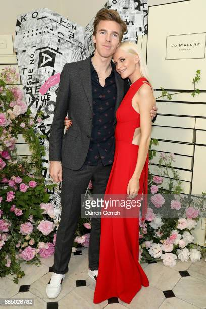 James Cook and Poppy Delevingne attend 'The Talk Of The Townhouse' hosted by JO MALONE LONDON on May 18 2017 in London England
