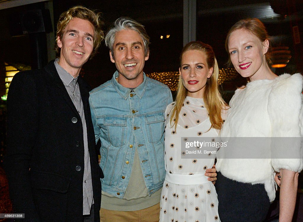 James Cook George Lamb Poppy Delevingne and Jade Parfitt attend as Osman Yousefzada and Poppy Delevingne celebrate the launch of the fourth issue of...