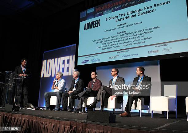 James Cooper Executive Editor Adweek Greg Lewis CEO cofounder of FanCandy Inc Dave Kissel President CEO InStadium Brandon Stander Director of...