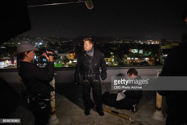 James Corden and Nate Fernald perform in a sketch during 'The Late Late Show with James Corden' Thursday October 5 2017 On The CBS Television Network