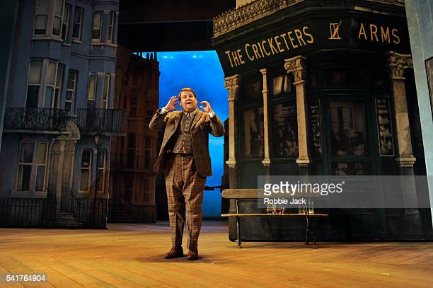 James Corden as Francis Henshall in Richard Bean's 'One ManTwo Guvnors' an adaptation of Carlo Goldoni's 'A Servant of Two Masters' directed by...