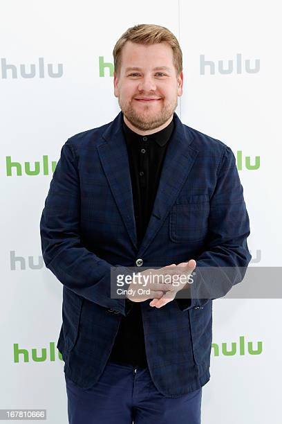 James Corden attends Hulu NY Press Junket on April 30 2013 in New York City