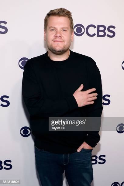 James Corden attends the 2017 CBS Upfront at The Plaza Hotel on May 17 2017 in New York City