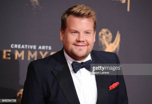 James Corden attends the 2017 Creative Arts Emmy Awards at Microsoft Theater on September 9 2017 in Los Angeles California