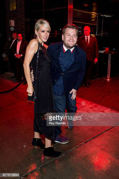 James Corden attends the after Party at the Standard Hotel following 'Manus x Machina Fashion In An Age Of Technology' Costume Institute Gala on May...