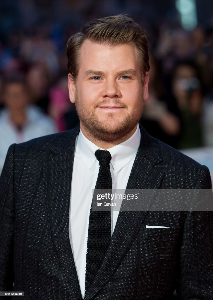 <a gi-track='captionPersonalityLinkClicked' href=/galleries/search?phrase=James+Corden&family=editorial&specificpeople=673860 ng-click='$event.stopPropagation()'>James Corden</a> attends the European premiere of 'One Chance' at The Odeon Leicester Square on October 17, 2013 in London, England.