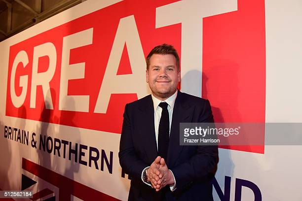 James Corden attends the Film is GREAT Reception at Fig Olive on February 26 2016 in West Hollywood California
