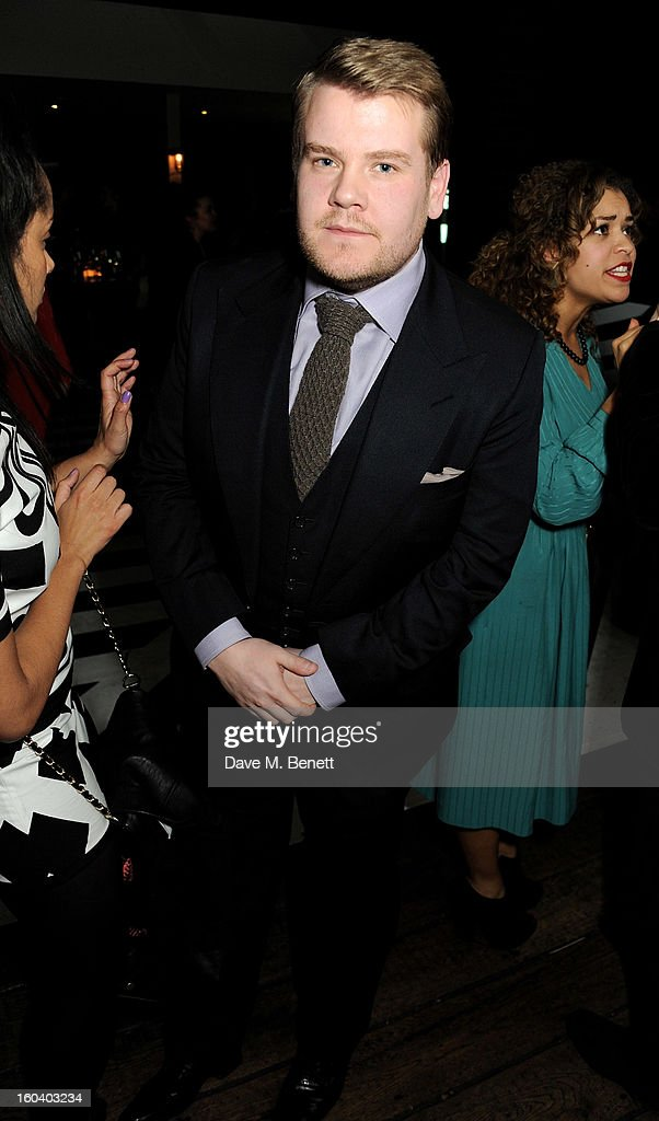 James Corden attends the InStyle Best Of British Talent party in association with Lancome and Avenue 32 at Shoreditch House on January 30, 2013 in London, England.
