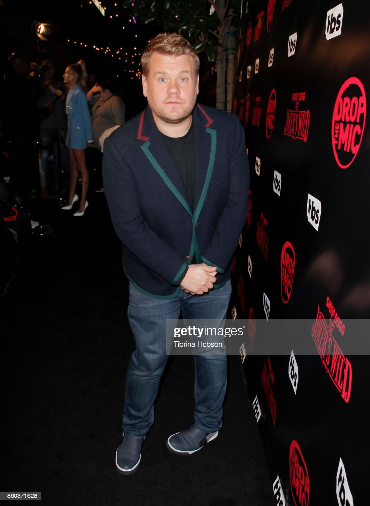 James Corden attends the premiere for TBS's 'Drop The Mic' and 'The Joker's Wild' at The Highlight Room on October 11, 2017 in Los Angeles, California.