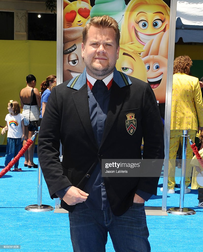 James Corden attends the premiere of 'The Emoji Movie' at Regency Village Theatre on July 23, 2017 in Westwood, California.