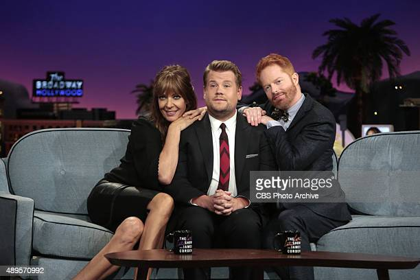 James Corden chats with Jesse Tyler Ferguson and Allison Janney on' Monday September 21st on The CBS Television Network