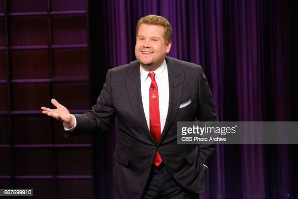 James Corden during 'The Late Late Show with James Corden' Monday March 6 2017 On The CBS Television Network