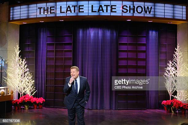 James Corden during 'The Late Late Show with James Corden' Thursday December 8 2016 On The CBS Television Network
