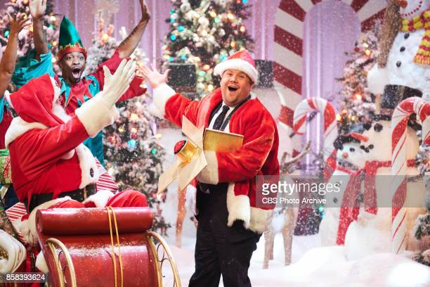 James Corden performs 3 Minutes of Christmas during 'The Late Late Show with James Corden' Wednesday October 4 2017 On The CBS Television Network