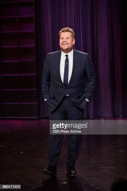 James Corden performs the monologue during 'The Late Late Show with James Corden' Thursday September 28 2017 On The CBS Television Network