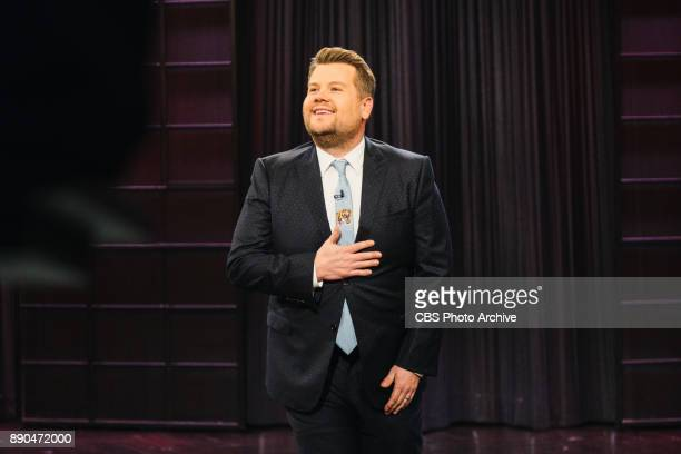 James Corden performs the monologue during 'The Late Late Show with James Corden' Tuesday November 21 2017 On The CBS Television Network