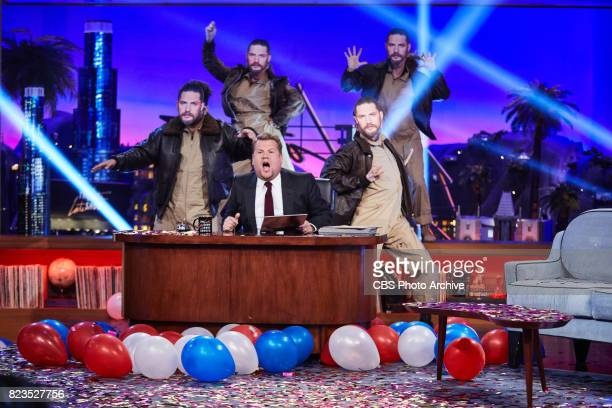 James Corden plays Celebrity Noses with the audience during 'The Late Late Show with James Corden' Wednesday July 26 2017 On The CBS Television...