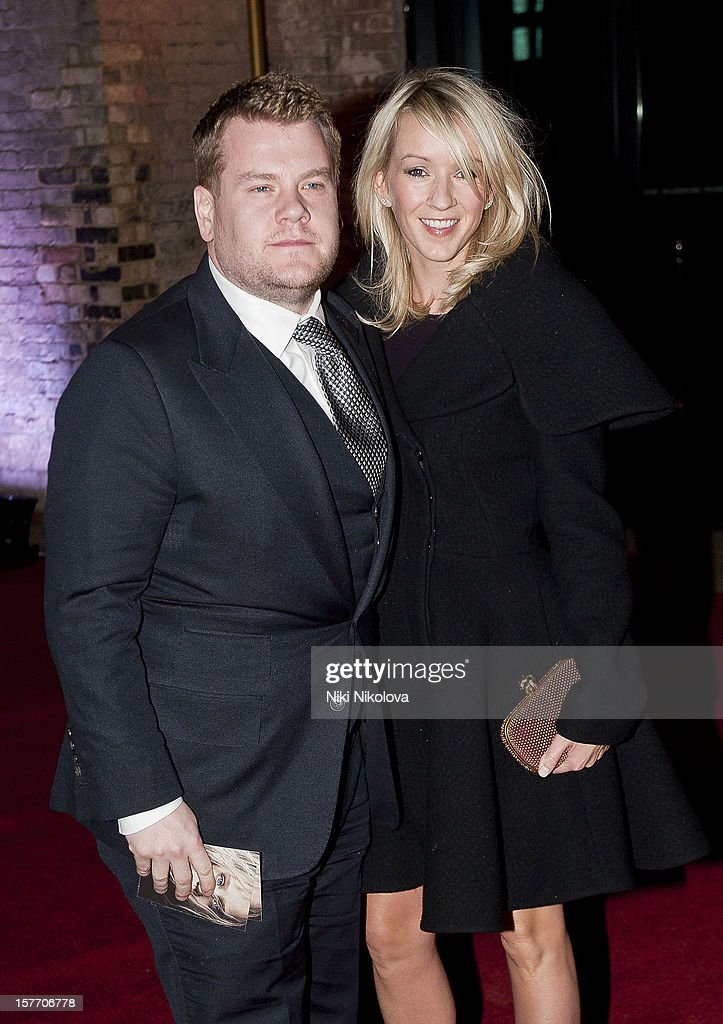 <a gi-track='captionPersonalityLinkClicked' href=/galleries/search?phrase=James+Corden&family=editorial&specificpeople=673860 ng-click='$event.stopPropagation()'>James Corden</a> sighting on December 5, 2012 in London, England.