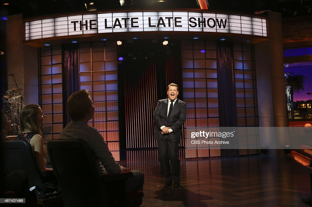 <a gi-track='captionPersonalityLinkClicked' href=/galleries/search?phrase=James+Corden&family=editorial&specificpeople=673860 ng-click='$event.stopPropagation()'>James Corden</a> steps on stage for the first episode of 'The Late Late Show with <a gi-track='captionPersonalityLinkClicked' href=/galleries/search?phrase=James+Corden&family=editorial&specificpeople=673860 ng-click='$event.stopPropagation()'>James Corden</a>,' premiering Monday, March 23 (12:37 -- 1:37 AM, ET/PT) on the CBS Television Network.