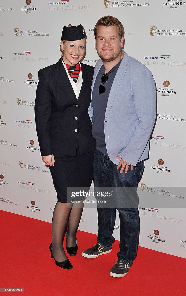 James Cordon attends the British Airways Silent Picturehouse launch at Vinopolis on July 22, 2013 in London, England.The pop-up film event shows movies that inspire travel.