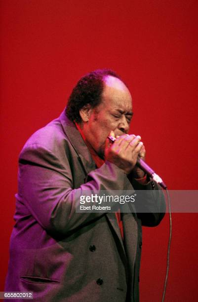 James Cotton at the WC Handy Blues Awards in Memphis Tennessee on May 1 1997