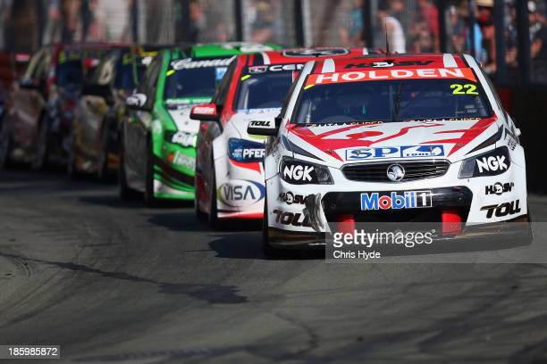 James Courtney drives the Holden Racing Team Holden race 31 for the Gold Coast 600 which is round 12 of the V8 Supercars Championship Series at the...