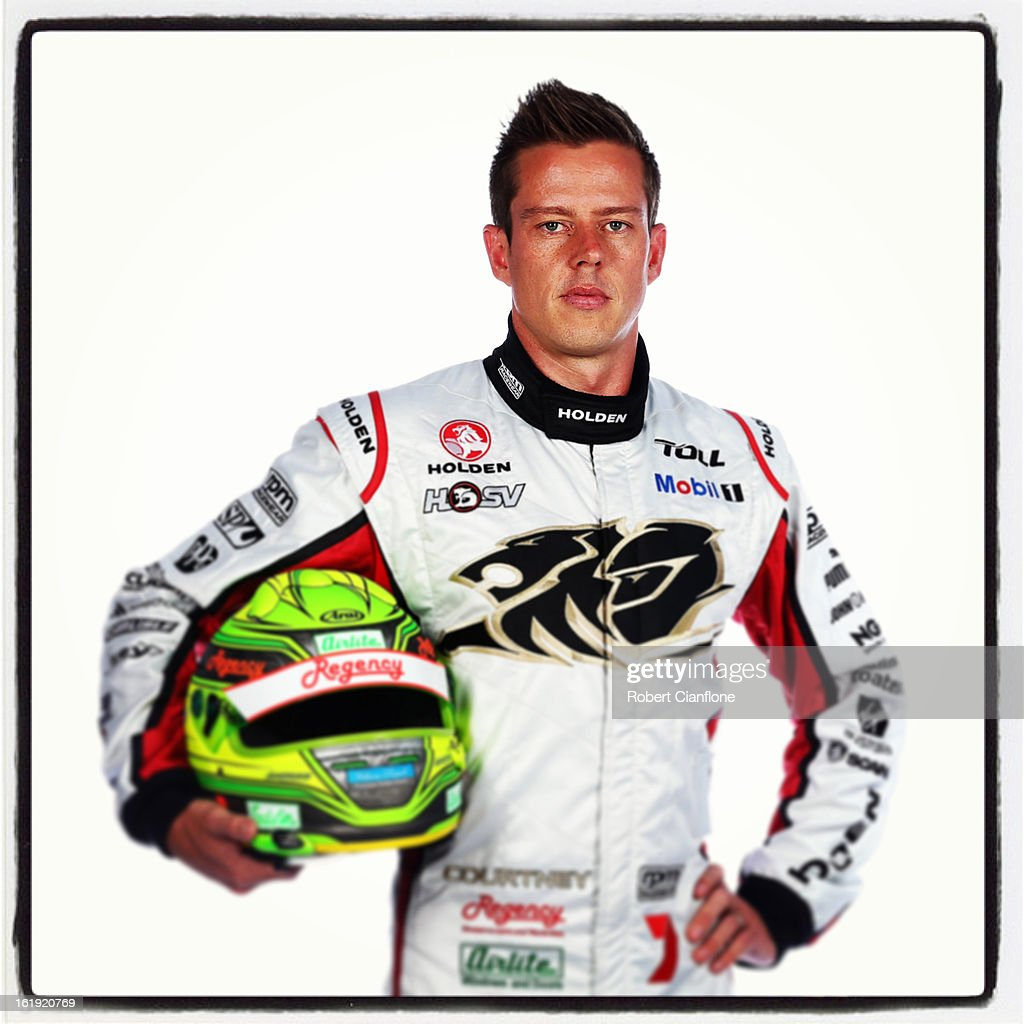 James Courtney of the Holden Racing Team poses during a V8 Supercars driver portrait session at Eastern Creek on February 15, 2013 in Sydney, Australia.