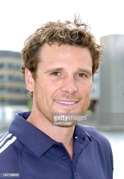James Cracknell during 2005 Michelob Ultra London Triathlon at ExCel Centre in London Great Britain