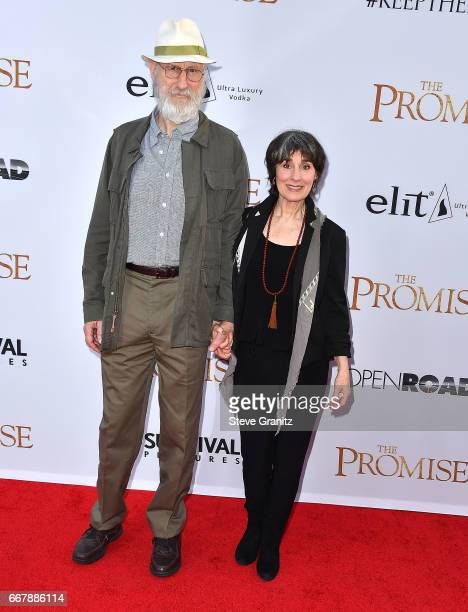James Cromwell Anna Stuart arrives at the Premiere Of Open Road Films' 'The Promise' at TCL Chinese Theatre on April 12 2017 in Hollywood California