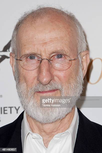 James Cromwell attends the Humane Society's 60th anniversary benefit gala at the Beverly Hilton Hotel on March 29 2014 in Beverly Hills California
