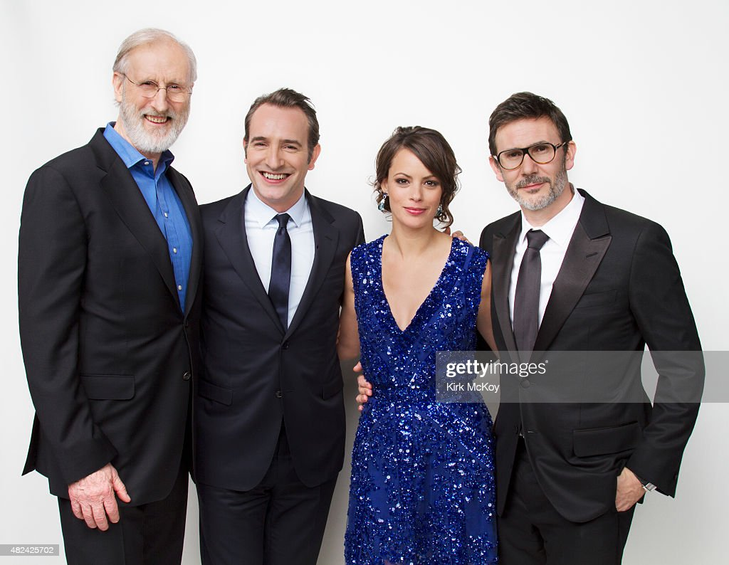 <a gi-track='captionPersonalityLinkClicked' href=/galleries/search?phrase=James+Cromwell&family=editorial&specificpeople=211295 ng-click='$event.stopPropagation()'>James Cromwell</a>, <a gi-track='captionPersonalityLinkClicked' href=/galleries/search?phrase=Jean+Dujardin&family=editorial&specificpeople=620972 ng-click='$event.stopPropagation()'>Jean Dujardin</a>, Berenice Bejo and director <a gi-track='captionPersonalityLinkClicked' href=/galleries/search?phrase=Michel+Hazanavicius&family=editorial&specificpeople=678372 ng-click='$event.stopPropagation()'>Michel Hazanavicius</a> are photographed for Los Angeles Times on August 29, 2011 in Los Angeles, CA . PUBLISHED IMAGE.