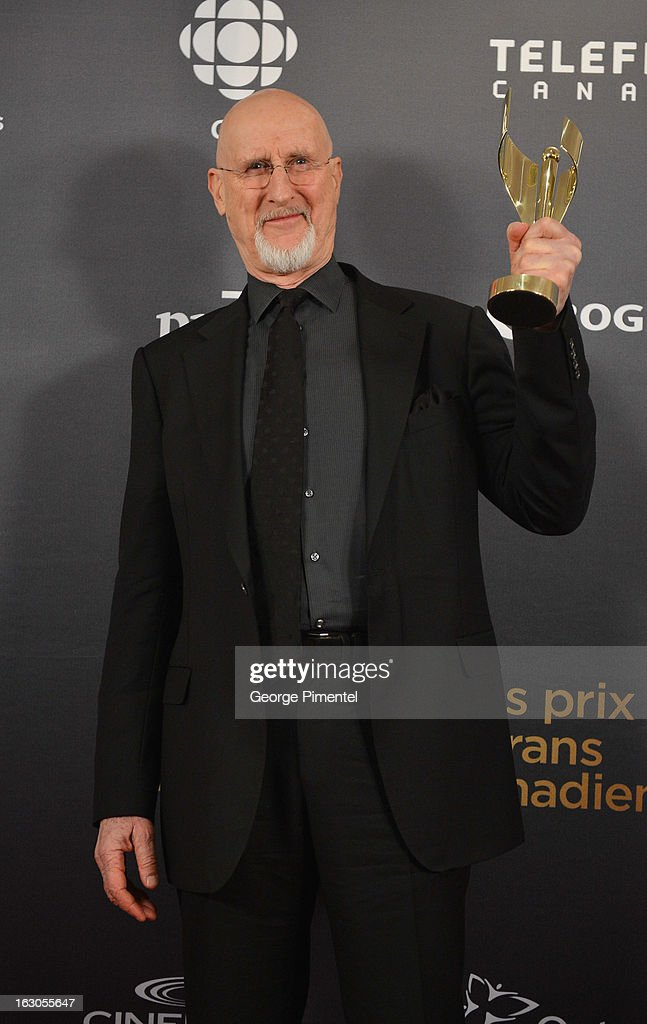 James Cromwell, winner of the best actor in a leading role, poses in the press room at the 2013 Canadian Screen Awards at Sony Centre for the Performing Arts on March 3, 2013 in Toronto, Canada.