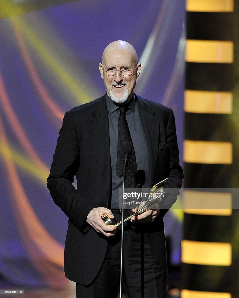 <a gi-track='captionPersonalityLinkClicked' href=/galleries/search?phrase=James+Cromwell&family=editorial&specificpeople=211295 ng-click='$event.stopPropagation()'>James Cromwell</a>, winner of the best actor in a leading role, speaks onstage at the 2013 Canadian Screen Awards at Sony Centre for the Performing Arts on March 3, 2013 in Toronto, Canada.