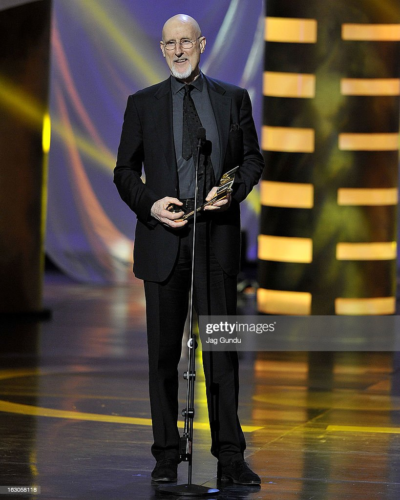 James Cromwell, winner of the best actor in a leading role, speaks onstage at the 2013 Canadian Screen Awards at Sony Centre for the Performing Arts on March 3, 2013 in Toronto, Canada.
