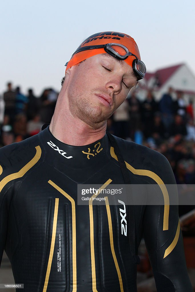 James Cunnama of South Africa during the Spec-Savers Ironman South Africa from Hobie Beach on April 14, 2013 in Port Elizabeth, South Africa.